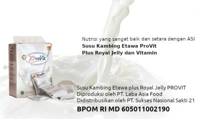 Susu Kambing Etawa ProVit (Plus Royal Jelly & Vitamin)
